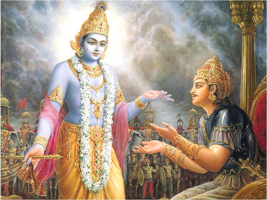 the teachings and beliefs in the bhagavad gita a hindu scripture in sanskrit The gita's explanation of belief and practice has had a huge influence on the formation of hindu thought in this course we study the main in this course we consider the bhagavad gita chapter by chapter we establish the main themes it pursues and identify the significance of this famous scripture.